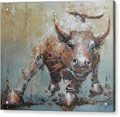 Bull Market Y Acrylic Print by John Henne