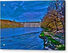 Bull Shoals Dam Acrylic Print
