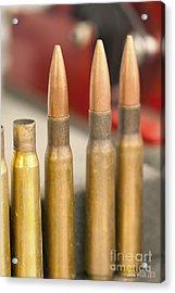 Bullet Art Acrylic Print
