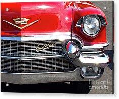 Bullet Bumpers - 1956 Cadillac Acrylic Print