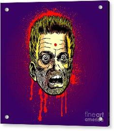Bullet Head Acrylic Print