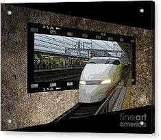 Bullet Train Oof Acrylic Print