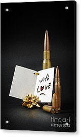 Bullets For You Acrylic Print