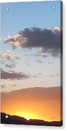 Bullhead Sunset Acrylic Print