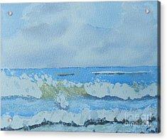 Bulli Beach Acrylic Print by Pamela  Meredith