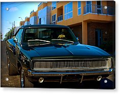 Bullit Replica Charger Acrylic Print by Tim McCullough