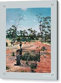 Bulong-w.a- Acrylic Print by Caroline Beaumont