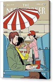 Bun Voyage Acrylic Print
