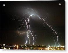 Bunbury Lightning Acrylic Print