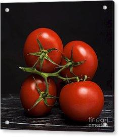 Bunch Of Tomatoes. Acrylic Print