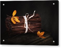 Bundle Of Sticks Still Life Acrylic Print by Tom Mc Nemar