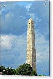 Bunker Hill Monument Acrylic Print by Barbara McDevitt