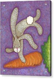 Bunny Bliss Acrylic Print