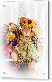 Bunny Expressions Acrylic Print