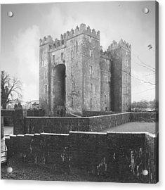 Bunratty Castle - Ireland Acrylic Print by Mike McGlothlen