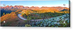 Bunyeroo Valley Acrylic Print by Bill  Robinson