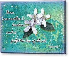 Burden Bearers Acrylic Print