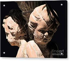 Acrylic Print featuring the photograph Burdened By Time by Ellen Cotton