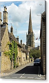 Burford Village Street Acrylic Print