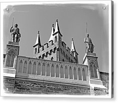 Acrylic Print featuring the photograph Burg Hohenzollern by Carsten Reisinger