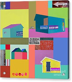 Burger Joint #2 Acrylic Print by Elena Nosyreva