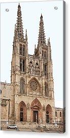 Burgos Cathedral Spain Acrylic Print by Rudi Prott