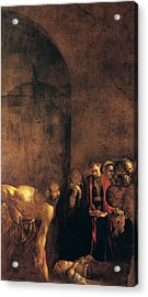 Burial Of St Lucy Acrylic Print