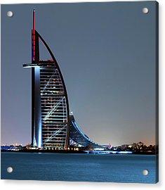Burj Al Arab Hotel Acrylic Print by Babak Tafreshi