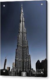Burj Khalifa 3 Acrylic Print by Graham Taylor