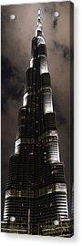 Burj Khalifa Acrylic Print by Corinne Rhode