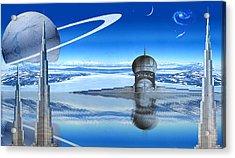Burj Khalifa Outpost Acrylic Print