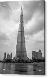Acrylic Print featuring the photograph Burj Khalifa by Robert  Aycock