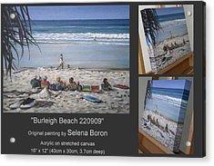 Burleigh Beach 220909 Acrylic Print
