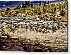 Burleigh Falls  Acrylic Print by Douglas Pike
