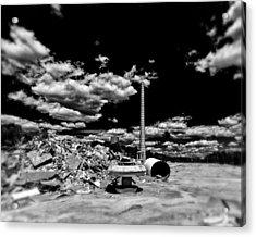 Burlington Klopman Remains Acrylic Print by Alan Raasch