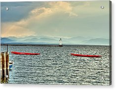 Burlington Light Acrylic Print