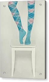 Burlington Socks Acrylic Print by Joana Kruse