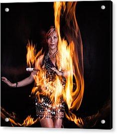 Burn It Up Acrylic Print