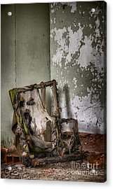 Burned Acrylic Print by Margie Hurwich