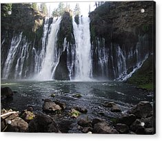 Burney Falls - The Eighth Wonder Of The World Acrylic Print by James Rishel