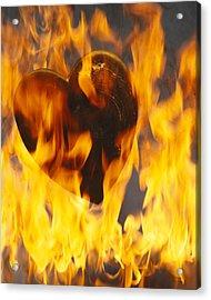 Burning Love C1978 Acrylic Print