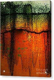 Burnt Caramel Acrylic Print