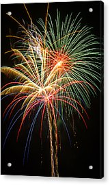 Bursting In Air Acrylic Print by Garry Gay
