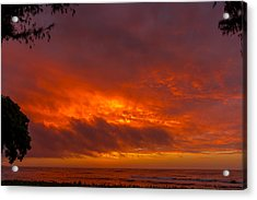 Bursting Sky Acrylic Print