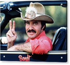 Burt Reynolds In Smokey And The Bandit  Acrylic Print