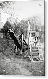 Burton's Telescope Acrylic Print by Royal Astronomical Society/science Photo Library