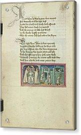 Bury St Edmund's Abbey Reformed Acrylic Print by British Library
