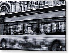Bus In Bologna Acrylic Print