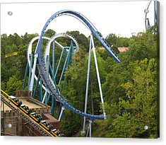 Acrylic Print featuring the photograph Busch Gardens - 12121 by DC Photographer