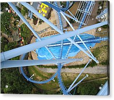 Acrylic Print featuring the photograph Busch Gardens - 121215 by DC Photographer